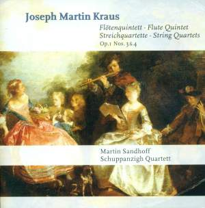 Kraus, J M: Flute Quintet in D major, etc.