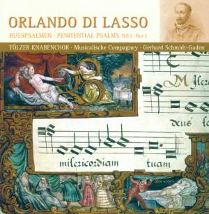 Orlando Di Lasso: Penitential Psalms Part 2 Product Image