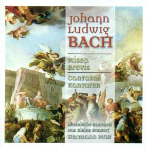 Johann Ludwig Bach: Missa brevis & Cantatas Product Image