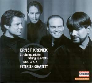 Krenek - String Quartets Nos. 3 & 5
