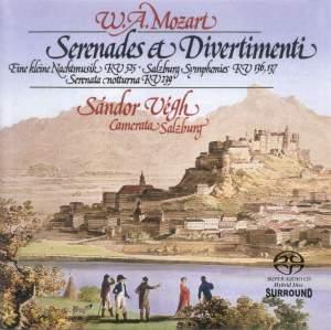 Mozart: Serenades & Divertimenti Product Image