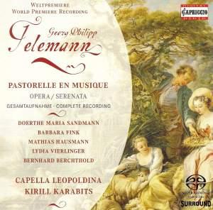Telemann, G.P.: Pastorelle En Musique [Opera] Product Image