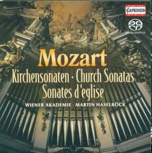 Mozart: Church (Epistle) Sonatas for Organ & Strings Nos. 1-17