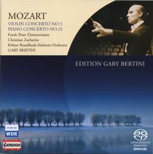 Mozart: Violin Concerto No. 5 & Piano Concerto No. 25 Product Image