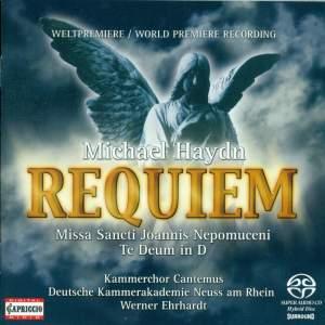 Michael Haydn: Requiem, Missa Sancti Joannis Nepomuceni & Te Deum