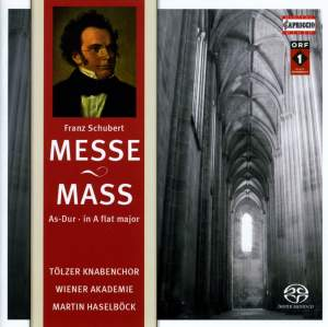 Schubert: Mass No. 5 in A flat major, D678 Product Image