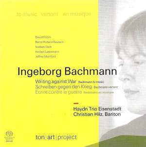 Writing against War' - Bachmann to music Product Image