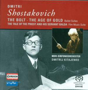 Shostakovich: Ballet Suite No. 5 from 'The Bolt' Op. 27a, etc. Product Image