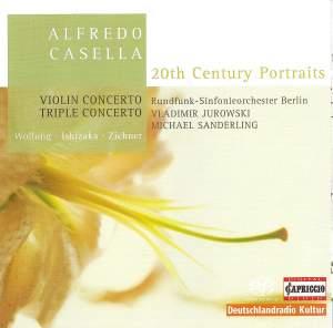 Casella: Triple Concerto & Violin Concerto