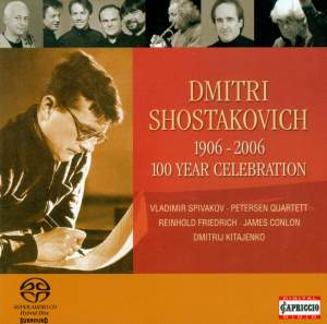 Shostakovich - 100 year Celebration 1906 - 2006 Product Image