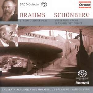 Brahms: String Quintet No. 2 in G major, Op. 111, etc. Product Image
