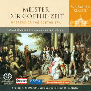 Masters of the Goethe Era Product Image