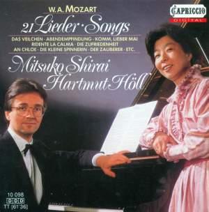 Mozart: Lieder Product Image