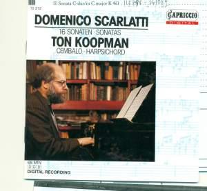 D Scarlatti: Keyboard Sonatas Product Image