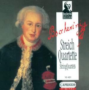 Boccherini: String Quartets Product Image