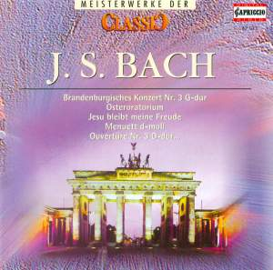 CLASSIC MASTERWORKS - Johann Sebastian Bach Product Image