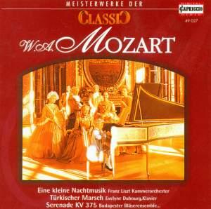 CLASSIC MASTERWORKS - Wolfgang Amadeus Mozart Product Image