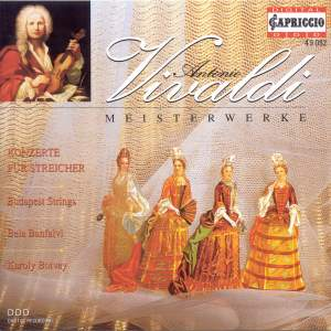 VIVALDI, A.: Concertos for Strings (Budapest Strings) Product Image