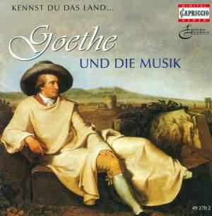 GOETHE AND MUSIC, Vol. 1 - BEETHOVEN, L. van / MENDELSSOHN, Felix / GOUNOD, C.-F. / BERLIOZ, H. / MASSENET, J. / MAHLER, G. / SPOHR, L. / BOITO. A Product Image