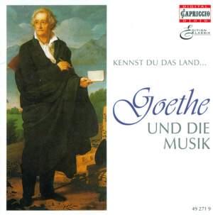 GOETHE AND MUSIC, Vol. 2 - WOLF, H. / SCHUBERT, F. / MOZART, W.A. / BEETHOVEN, L. van / SCHUMANN, R. / BRAHMS. J. / LISZT, F. / MENDELSSOHN, Felix Product Image