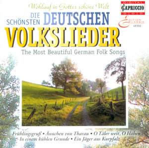 The Most Beautiful German Folk Songs