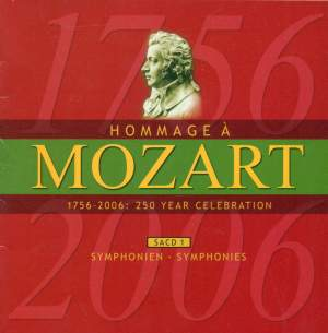 MOZART (A HOMAGE) - 250 YEAR CELEBRATION, Vol. 1 (Symphonies) Product Image