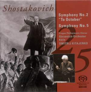 Shostakovich: Symphonies Nos. 2 & 5 Product Image