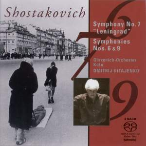 Shostakovich: Symphonies Nos. 6, 7 & 9 Product Image