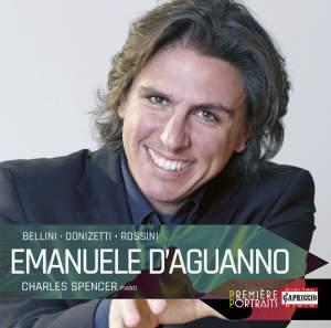 Emanuele d'Aguanno sings Bellini, Donizetti & Rossini