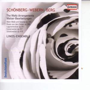 J Strauss II: Waltz Arrangements by Schoenberg, Webern and Berg Product Image