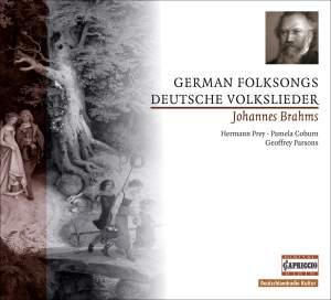 Brahms: German Folk Songs (12), WoO 35 Product Image