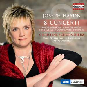 Haydn - 8 Concerti For Harpsichord, Piano & Organ Product Image