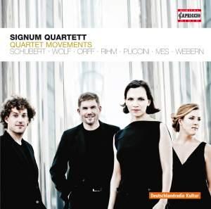 Signum Quartett: Quartet Movements Product Image