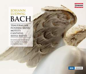 J L Bach: Funeral Music, Motets, Cantatas & Missa Brevis Product Image