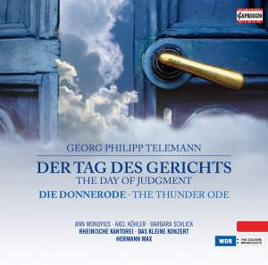 Telemann: The Day of Judgement & The Thunder Ode Product Image