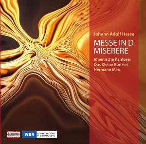 Hasse: Mass in D minor & Miserere in C minor Product Image