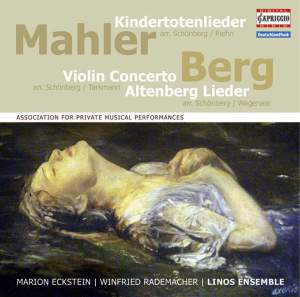 Linos Ensemble play Mahler & Berg Product Image