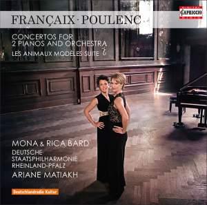 Francaix & Poulenc: Concertos for 2 Pianos and Orchestra