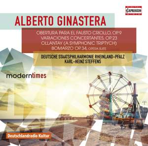 Ginastera: Orchestral Works Product Image