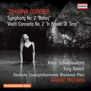 Doderer: Symphony No. 2 & Violin Concerto No. 2 Product Image