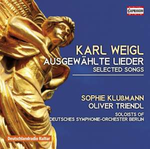 Karl Weigl: Selected Songs Product Image