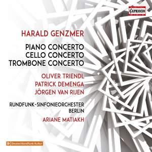 Harald Genzmer: Concertos Product Image