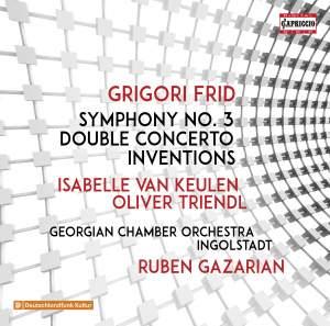 Grigori Frid: Symphony No. 3, Double Concerto & Inventions