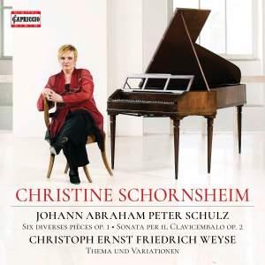 Christine Schornsheim plays Schulz and Weyse Product Image