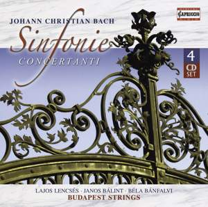 Johann Christian Bach - Sinfonie Concertanti