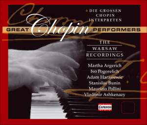 Chopin: The Great Performers Product Image