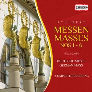Schubert: Masses Nos. 1-6 & German Mass Product Image