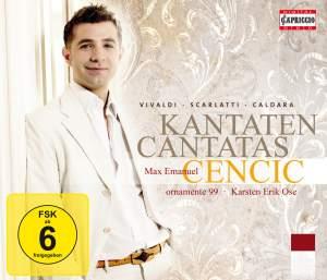 Max Emanuel Cencic sings Cantatas by Vivaldi, Scarlatti and Caldara Product Image