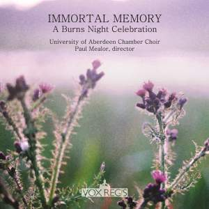 Immortal Memory - A Burns Night Celebration