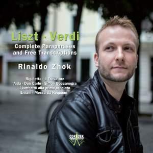 Liszt - Verdi: Complete Paraphrases and Free Transcriptions Product Image